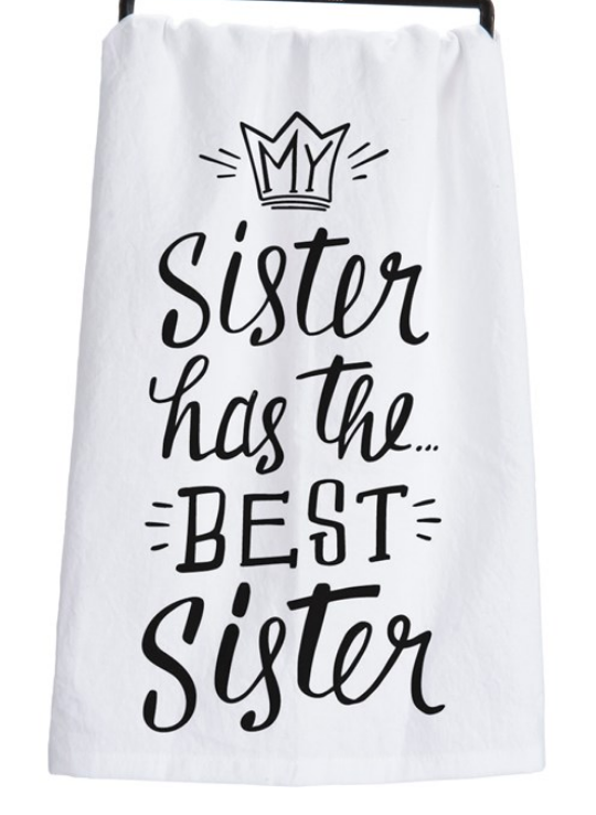Best Sister Tea Towel