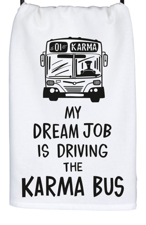 Dream Job Tea Towel