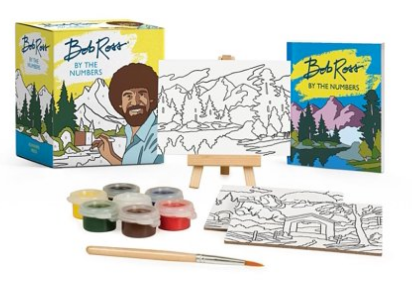 Bob Ross By the Numbers- Mini Paint Kit