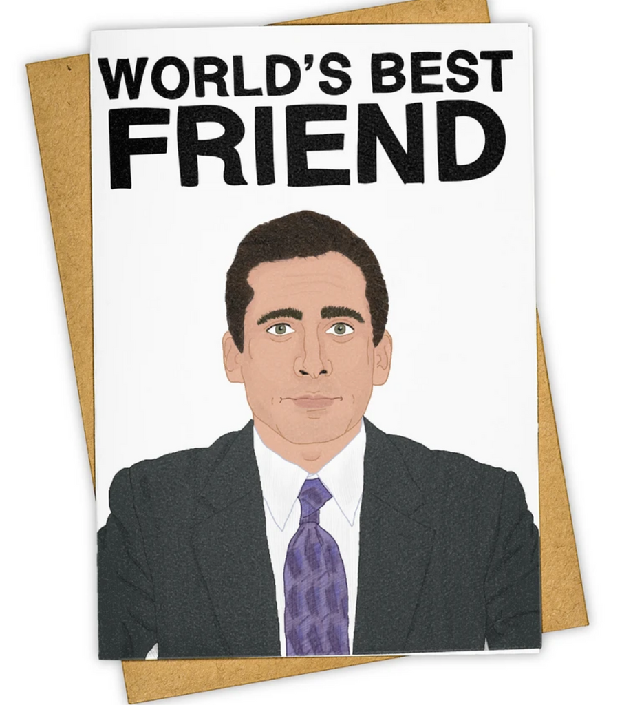 World's Best Friend - Greeting Card