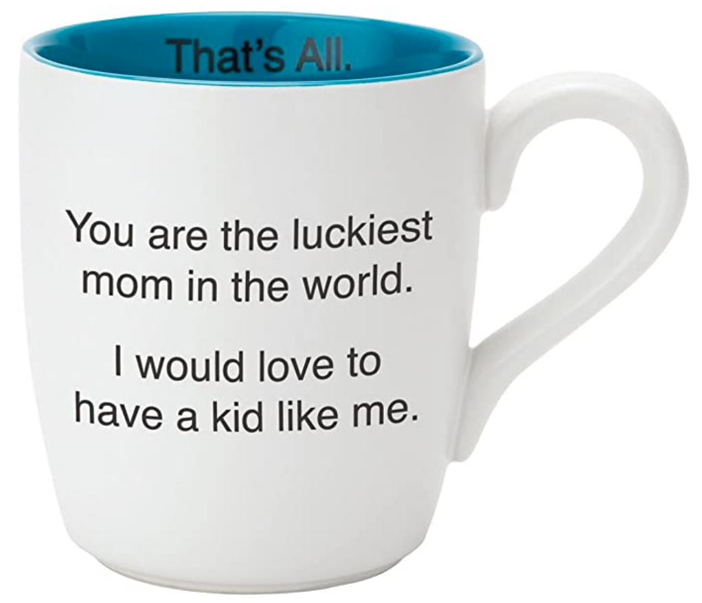 Luckiest Mom mug