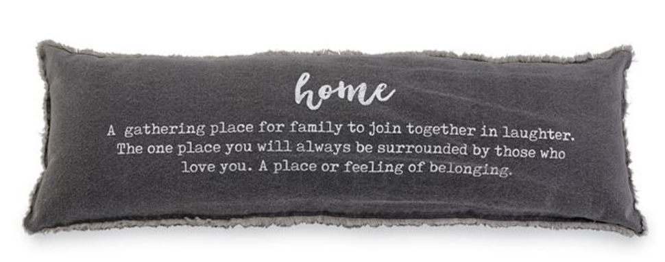 Washed Canvas |Home Definition Pillow