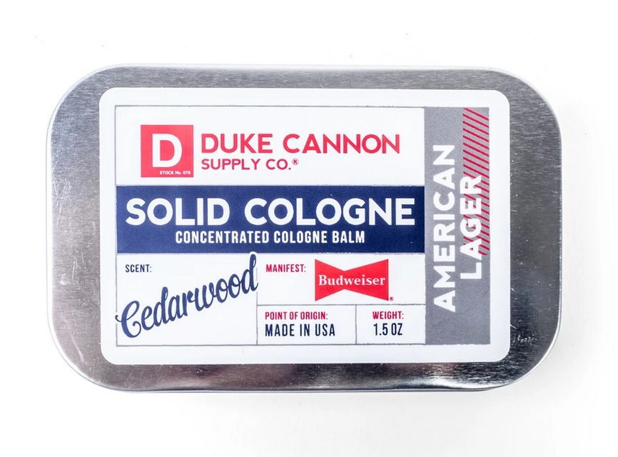 Duke Cannon- Solid Cologne - American Lager