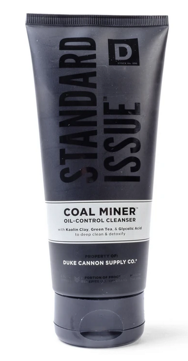Duke Cannon COAL MINER Oil Control Face Cleanser