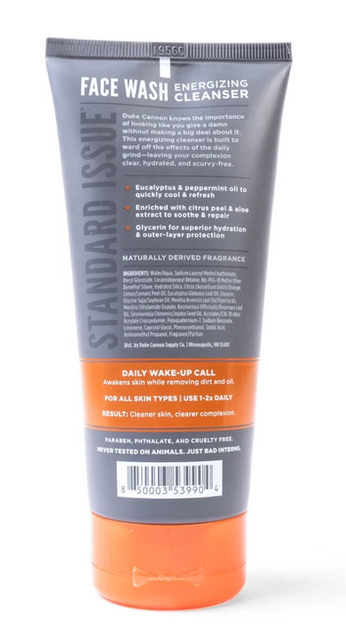 Duke Cannon-FACE WASH Energizing Cleanser
