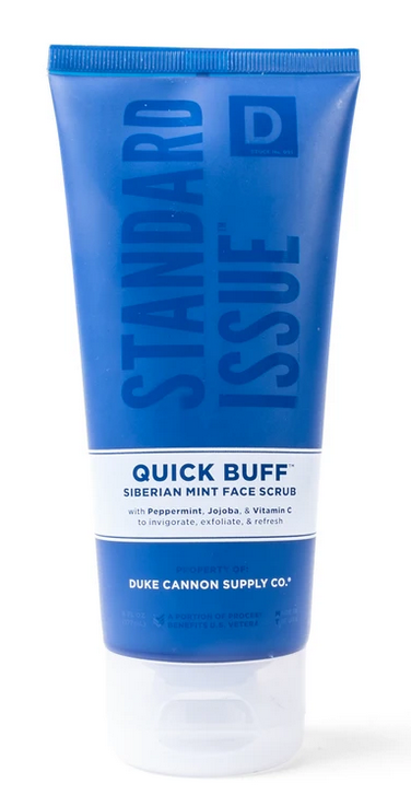 Duke Cannon-QUICK BUFF Siberian Mint Face Scrub