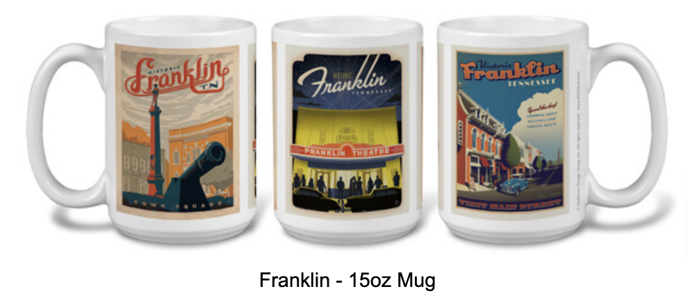 Historic Franklin 15 oz Mug