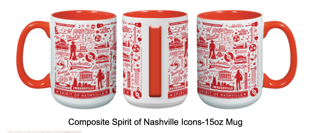 Nashville Icons 15 oz Mug