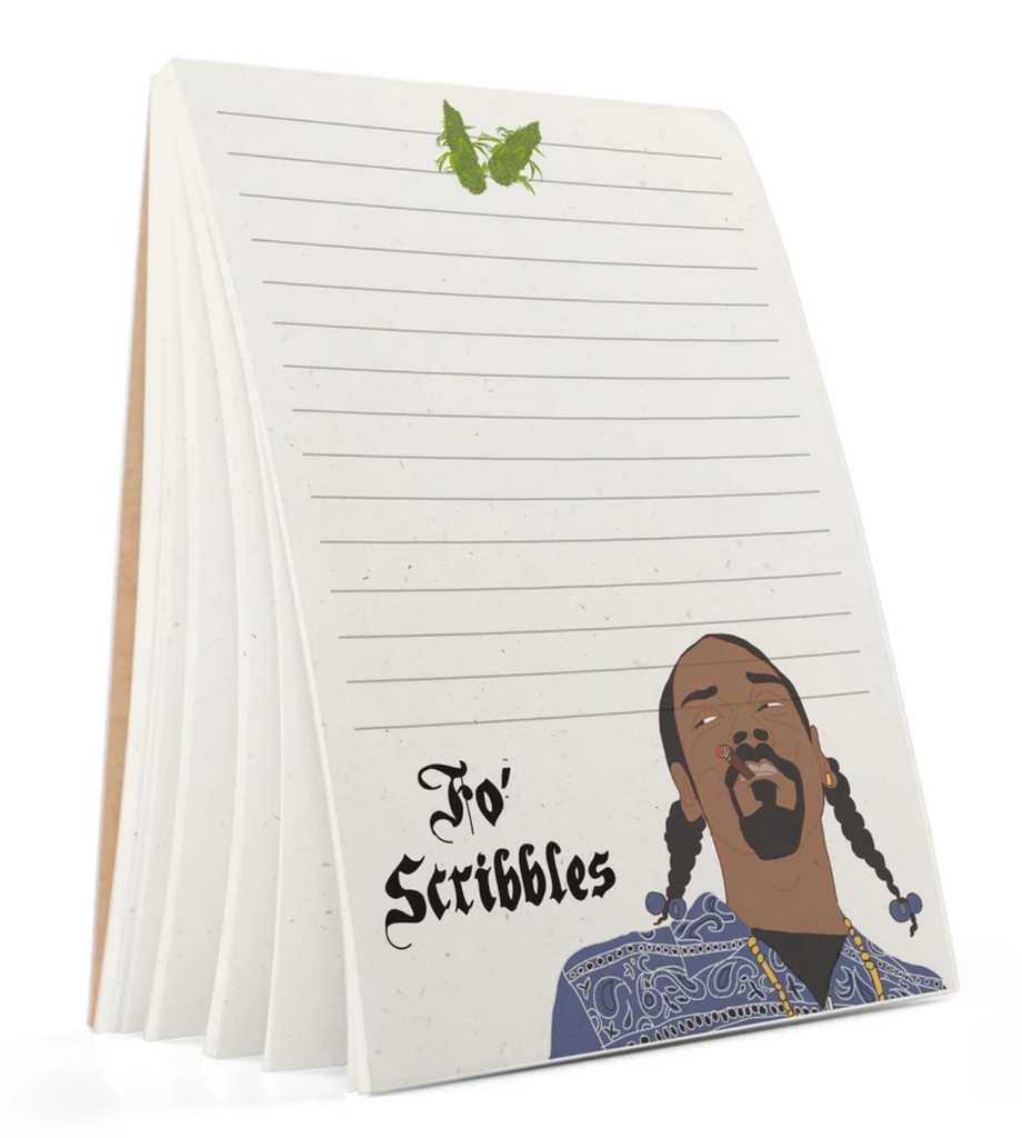 "Snoop ""Fo Scribbles"" Notepad"
