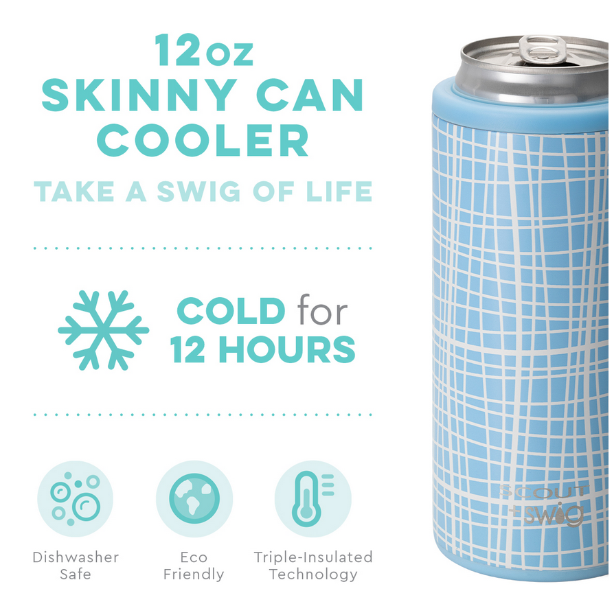 Swig 12oz Skinny Can Cooler Screen Latifah by SCOUT