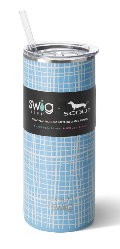 Swig 20oz Tumbler Screen Latifah by SCOUT