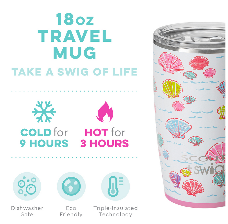 Swig 18oz Mug Let's Shellabrate by SCOUT