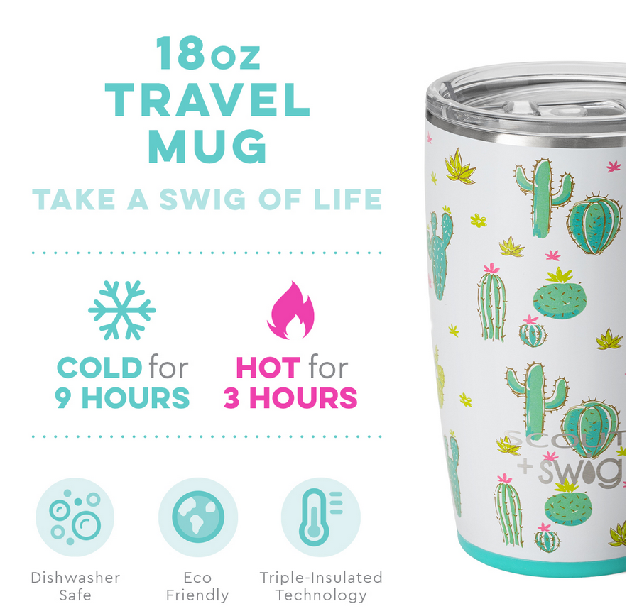 Swig 18oz Mug Cactus Makes Perfect by SCOUT