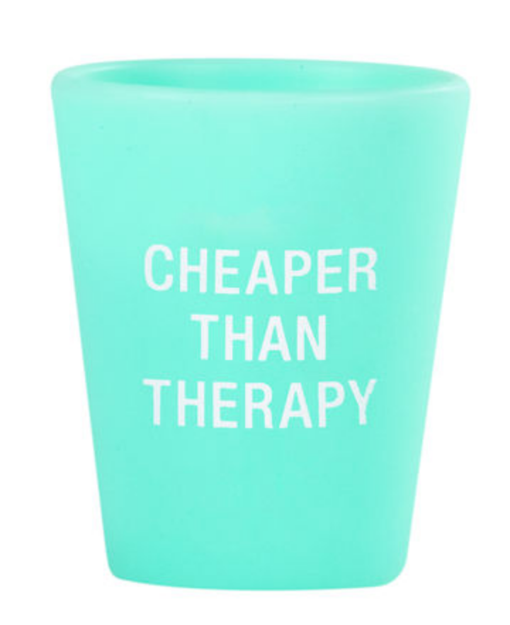Therapy Silicone Shot Glass