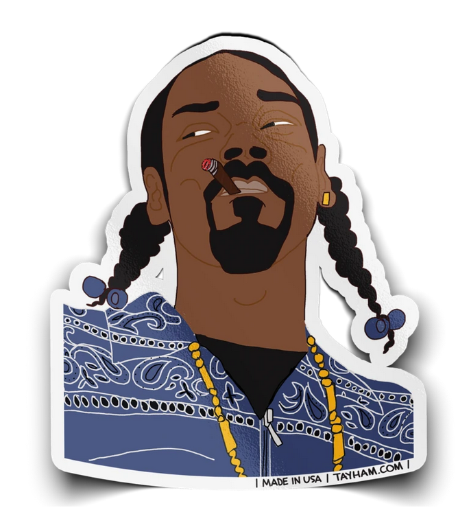 Tay Ham Stickers Snoop