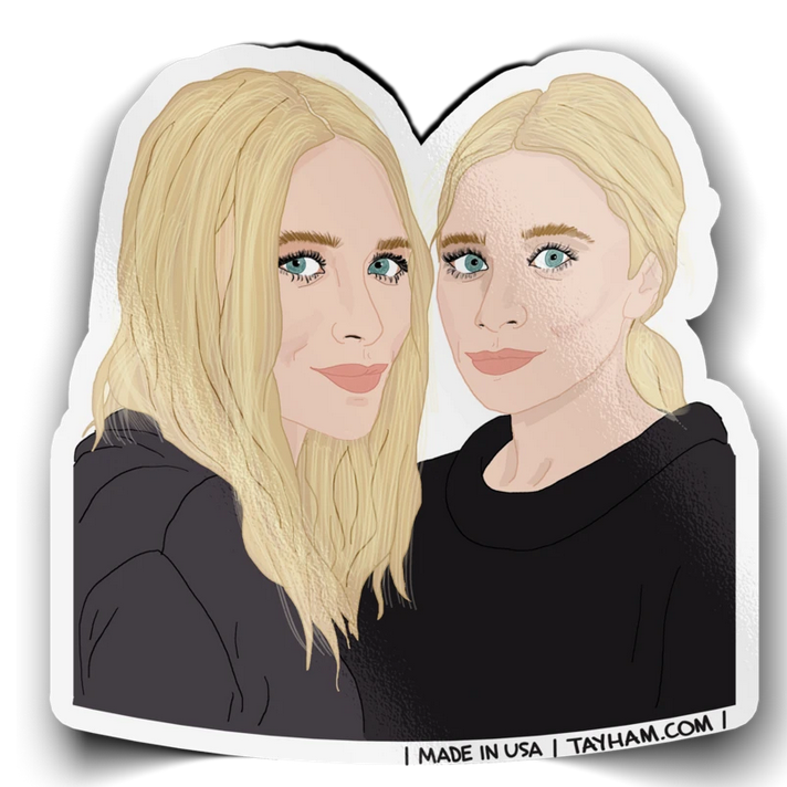 Tay Ham Stickers Sisters