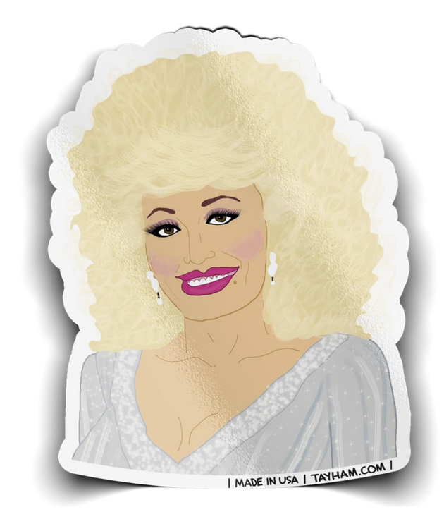 Tay Ham Stickers Silver Dolly
