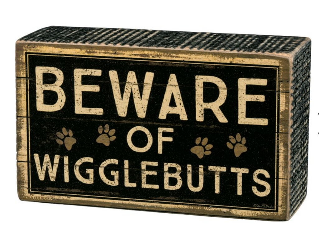 Box Sign - Wigglebutts