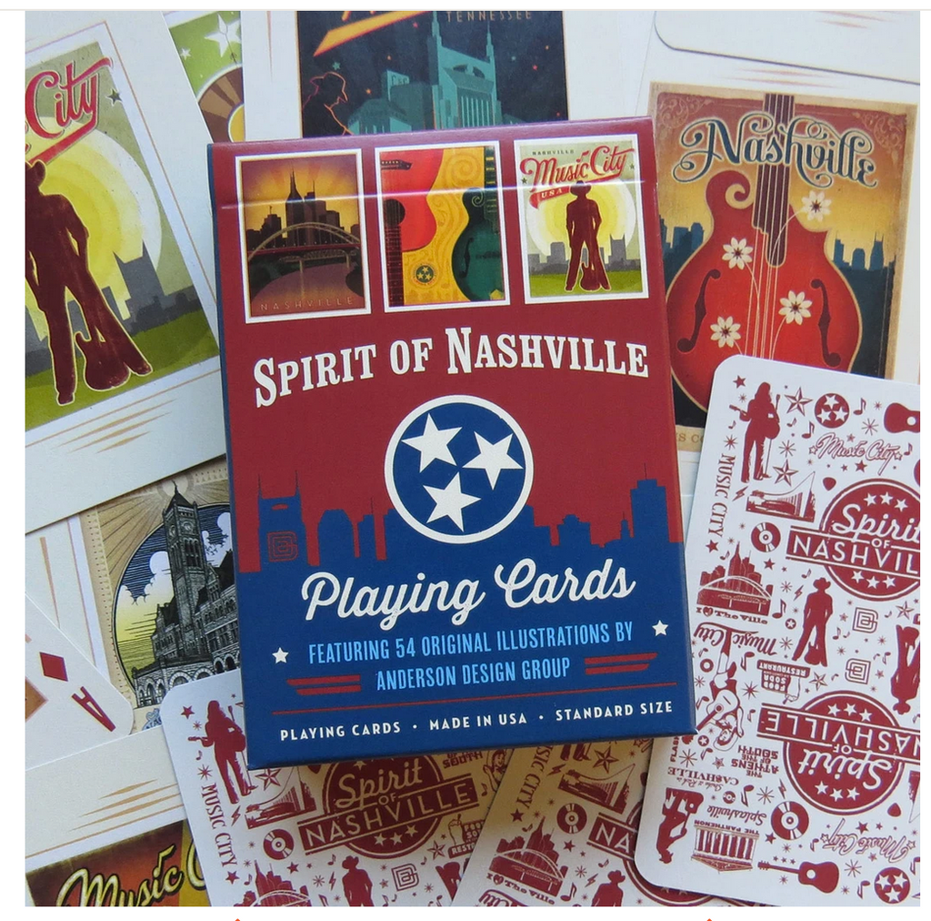 Spirit of Nashville playing cards SPN