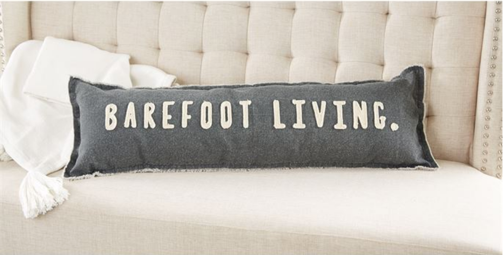 BAREFOOT LIVING PILLOW MPP
