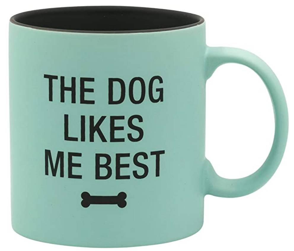 Pet Mug- Dog Likes Me Best