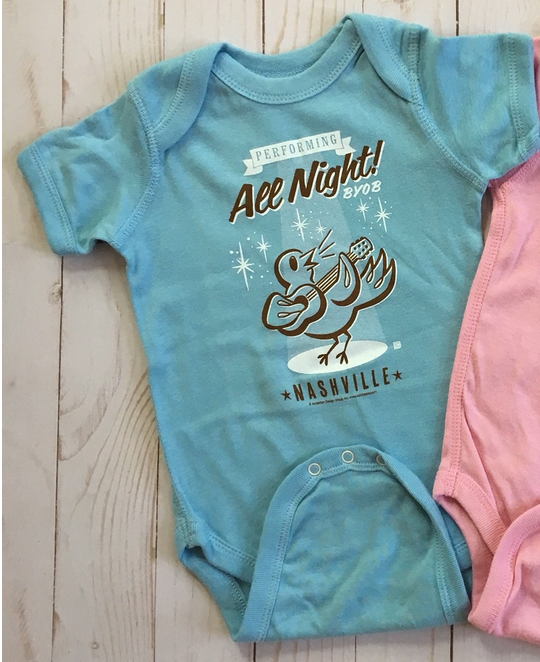 Up All Night Onesie SPN