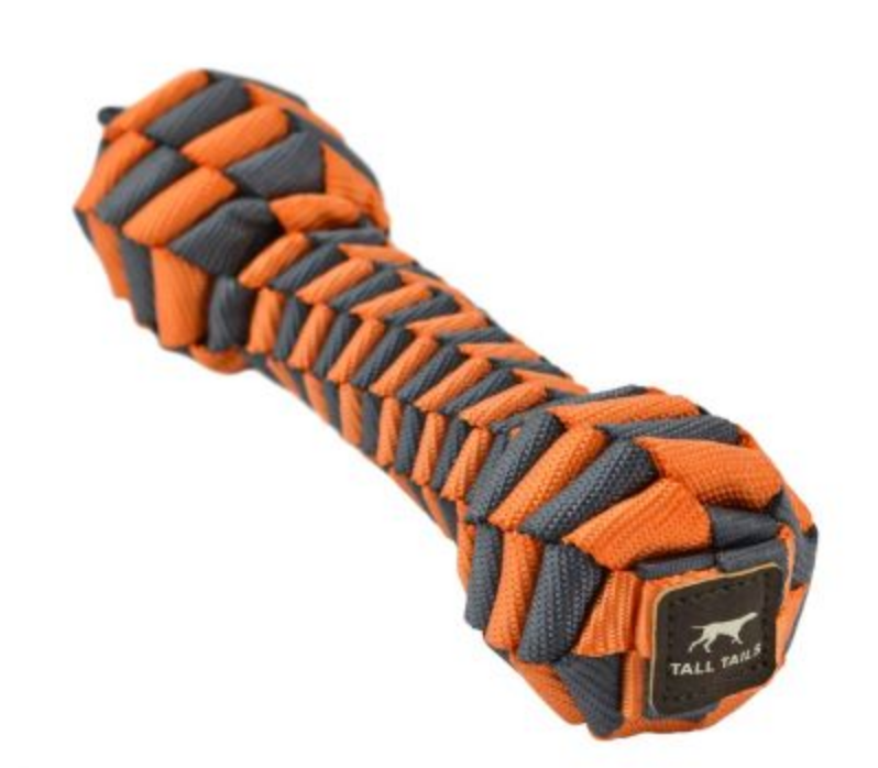 Lg Orange Braided Bone Toy