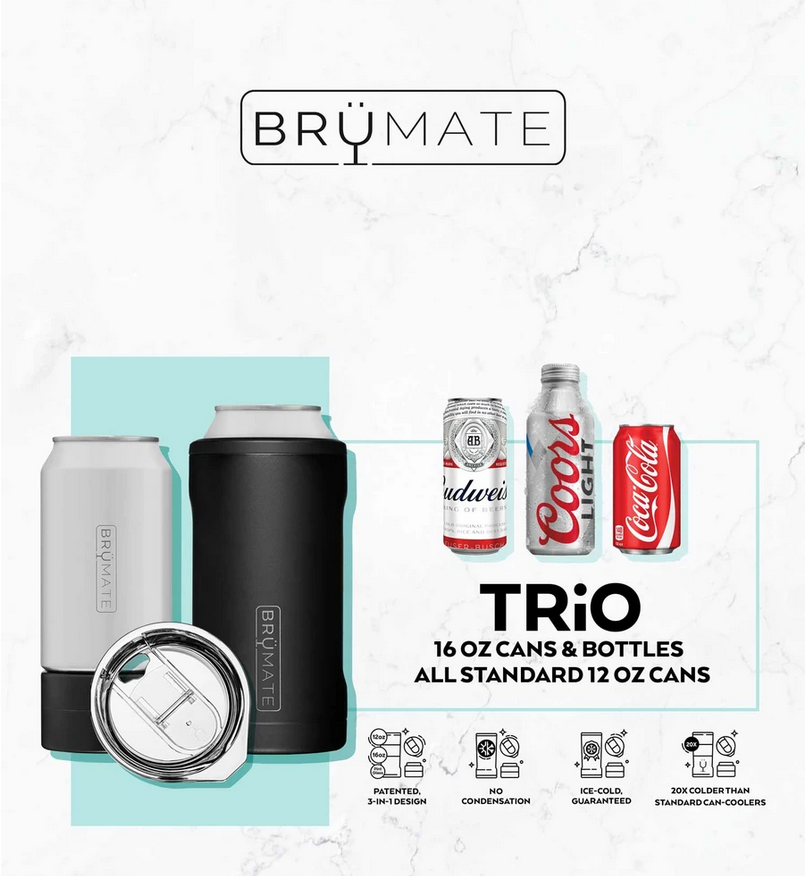 BruMate Hopsulator Trio 3-in-1 Desert Tan