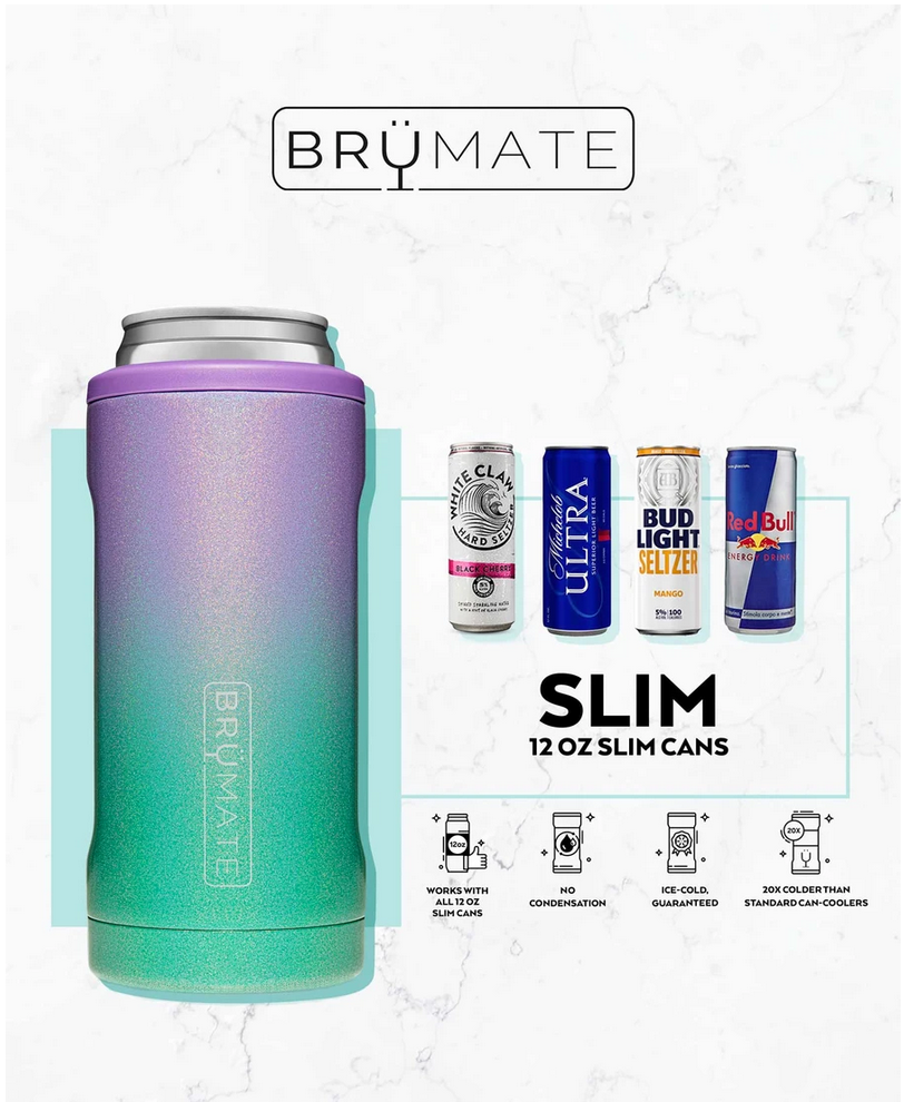 BruMate Hopsulator Slim Glitter Rose Gold