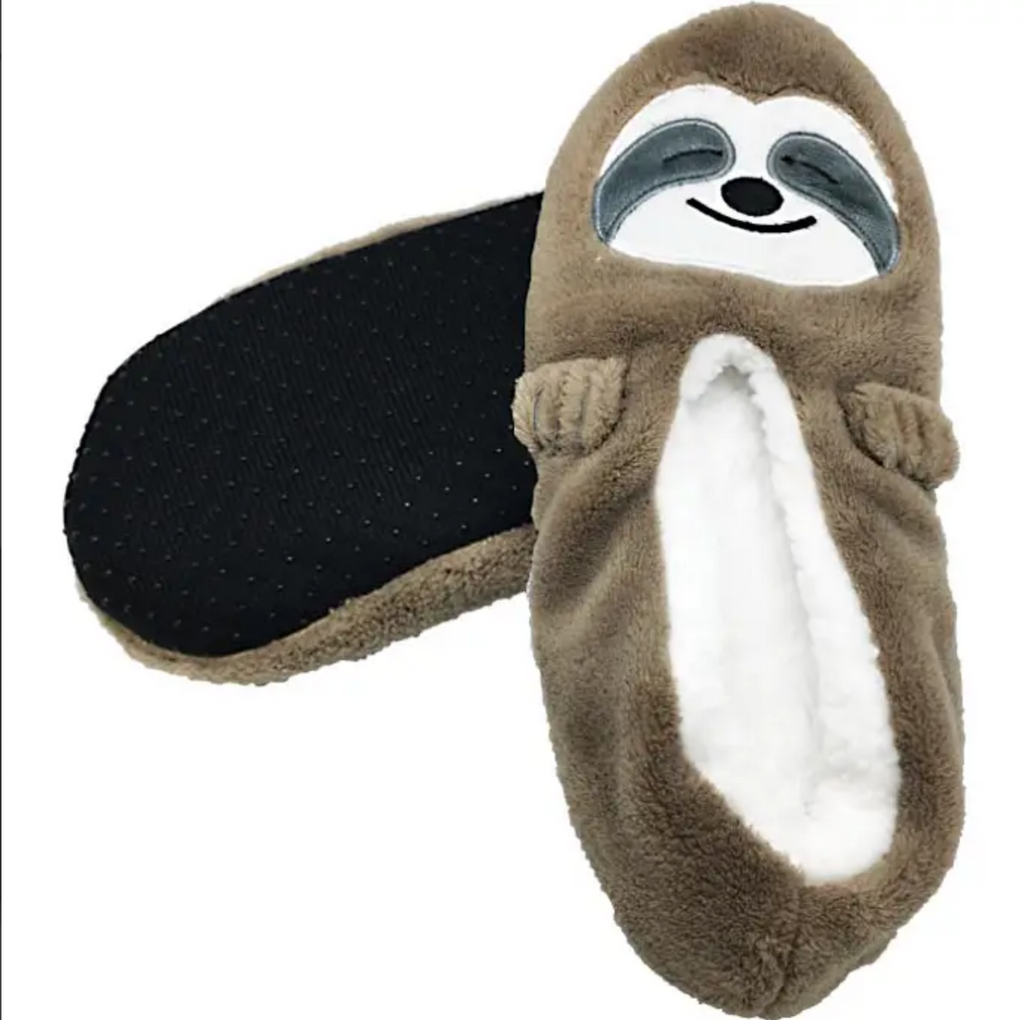Sloth Slippers L/XL
