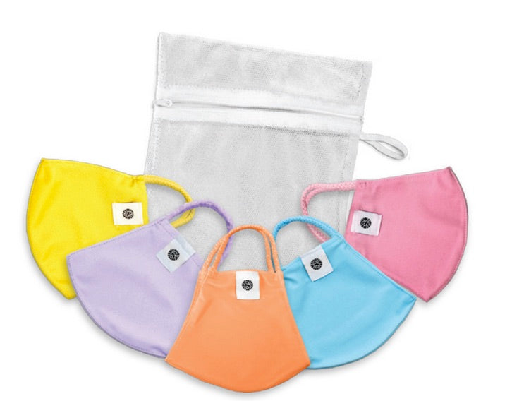 Kid Mask 5pk w/ Laundry bag