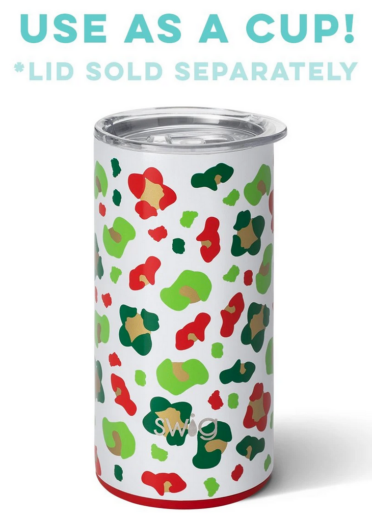 Swig 12oz Skinny Can Cooler Jingle Jungle