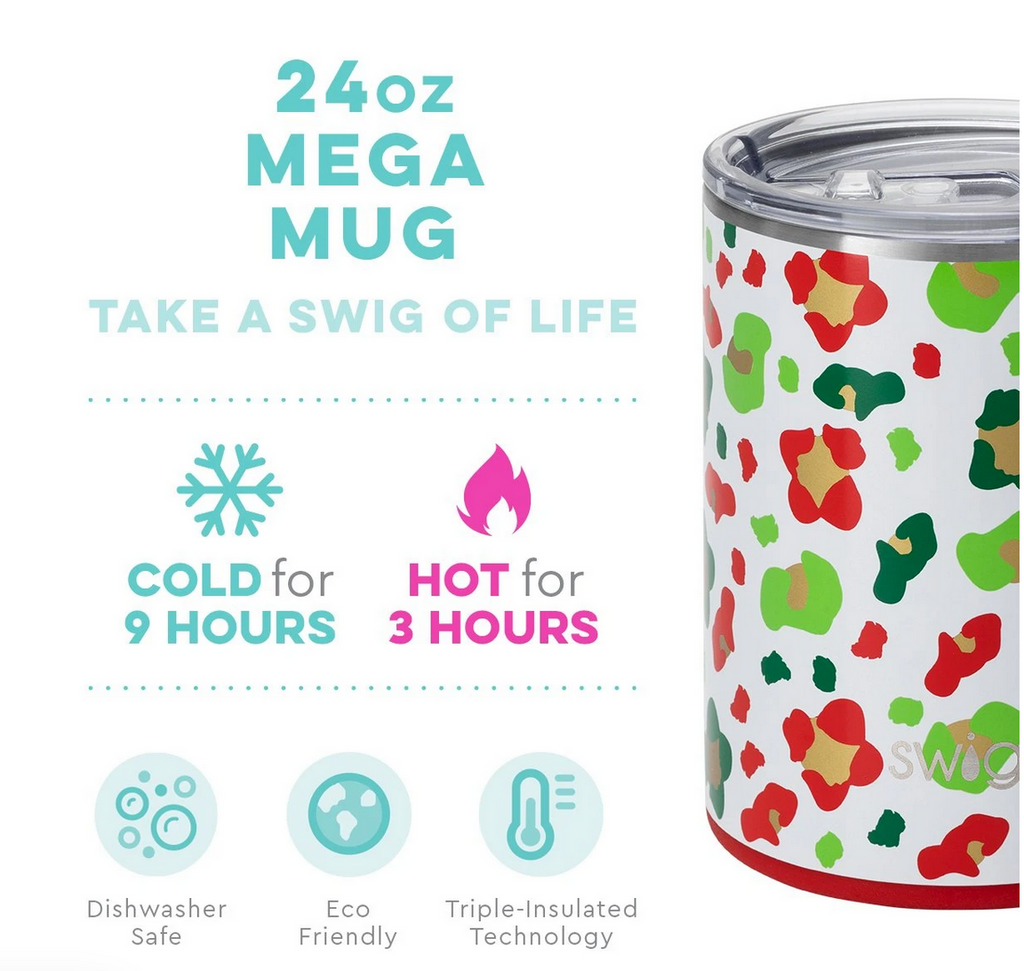 Swig 24oz Mega Mug Jingle Jungle