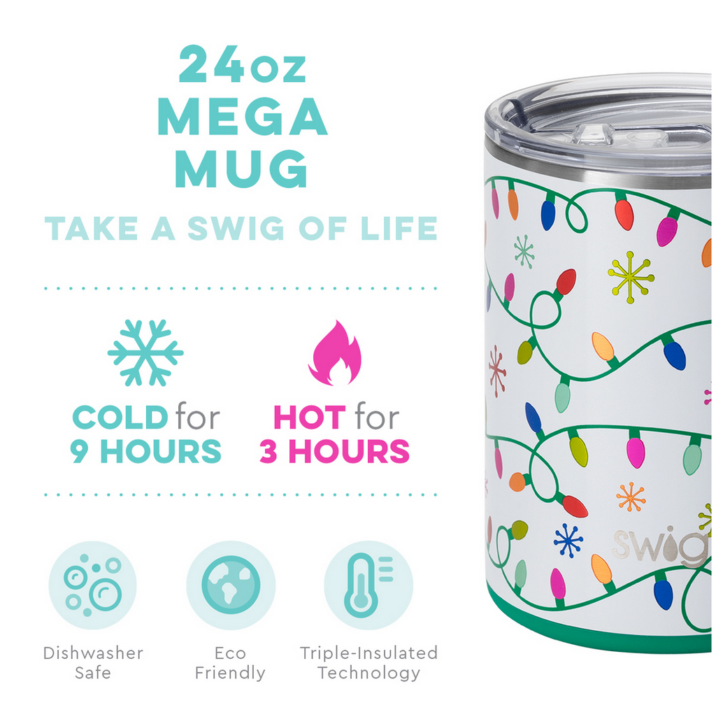 Swig 24oz Mega Mug Let it Glow