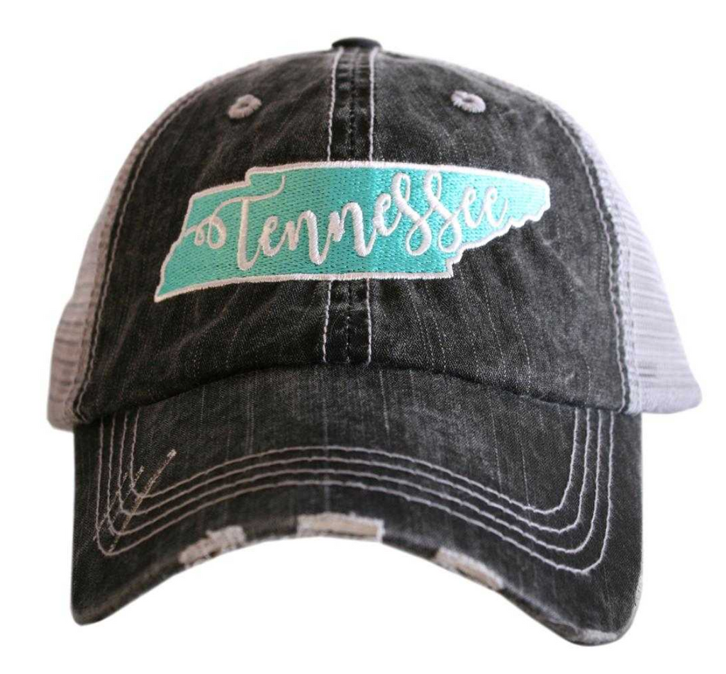 TN Patch Trucker Hat Mint
