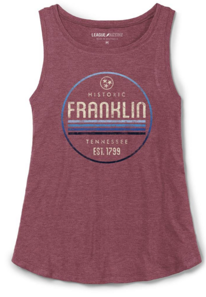 Franklin TN Tri-Flex Burgundy Tank