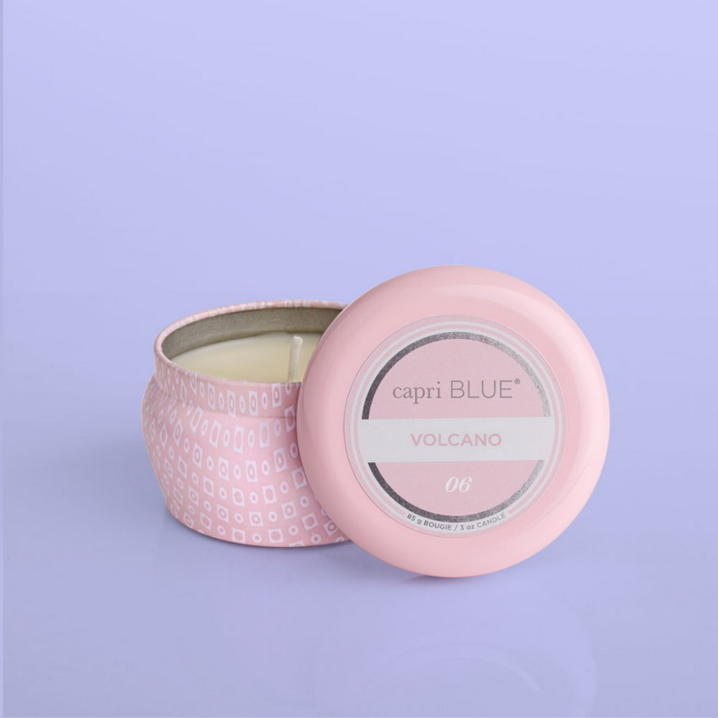 SIGNATURE BUBBLEGUM PINK MINI TIN - VOLCANO