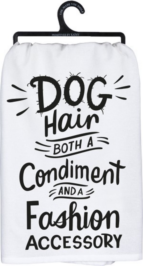 Dog Hair Kitchen Towel