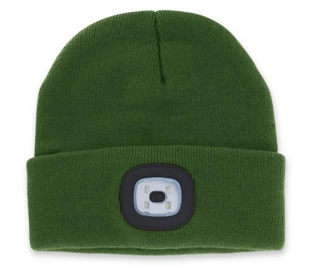LED Rechargeable Beanie
