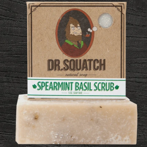 Bar Soap Spearmint Basil Scrub