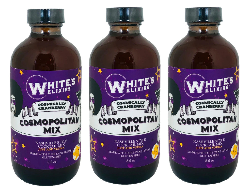 White's Elixirs 8oz Cocktail Mix- Cosmopolitan