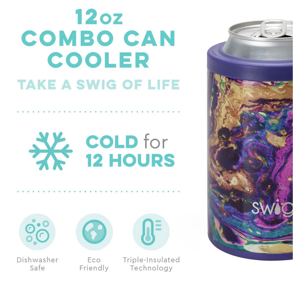 Swig 12oz. Combo Can/Bottle Cooler - Purple Rain