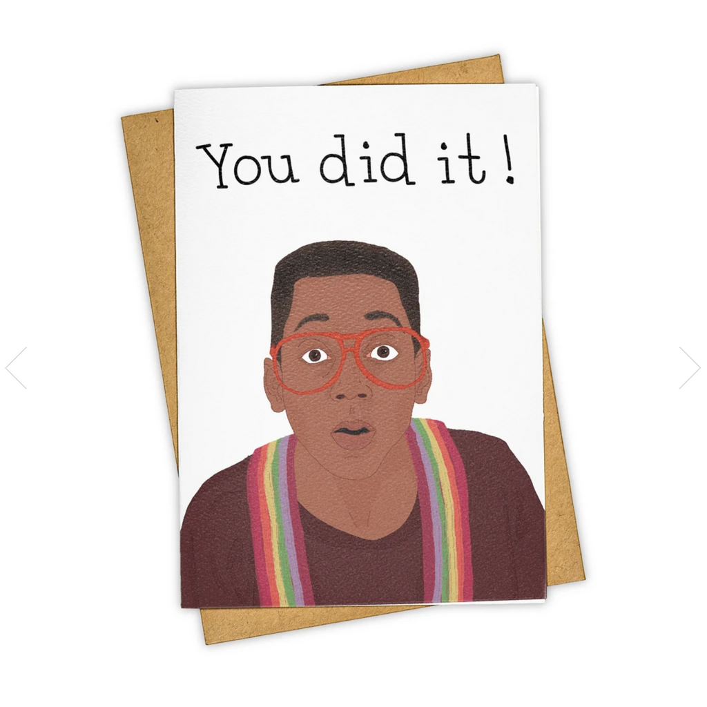 Tay Ham Card - You Did It