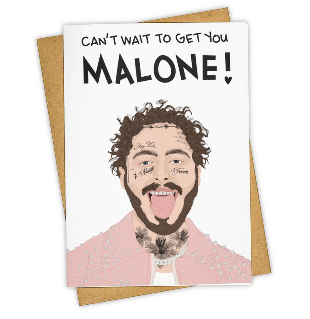 Tay Ham Card - Get you Malone