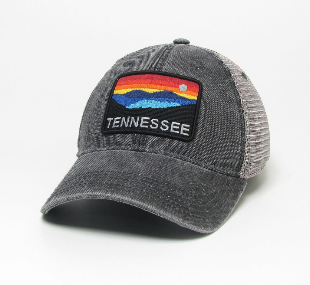 Black/Grey Hat w/ TN Horizon Patch