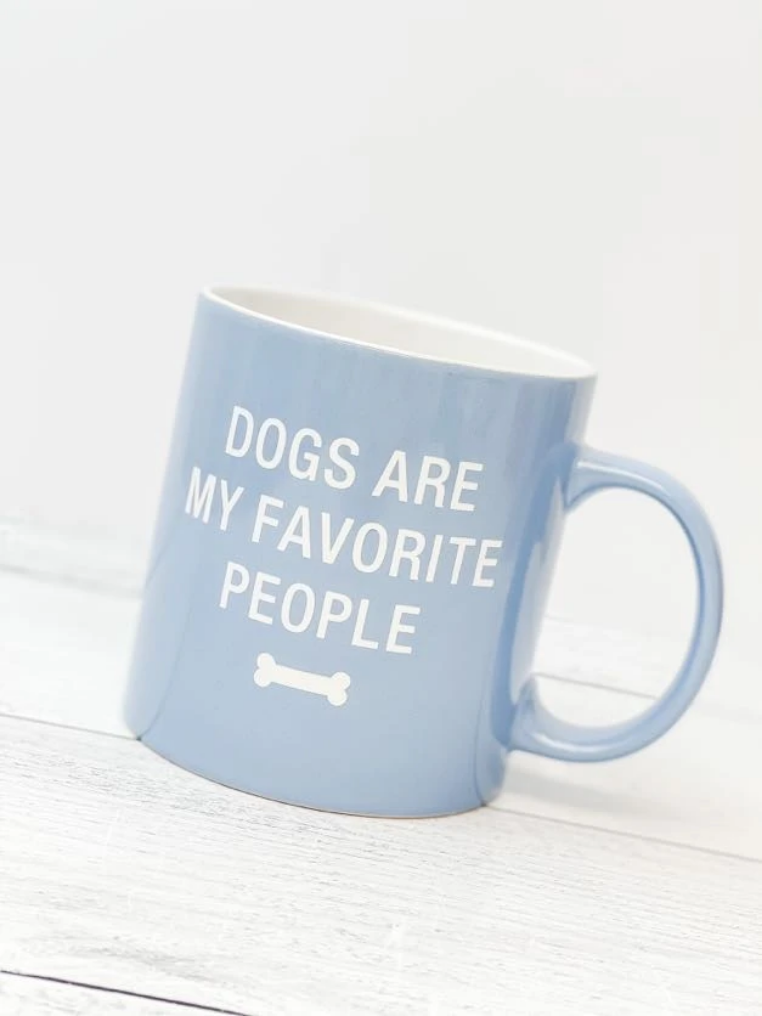 Dog are my favorite Mug