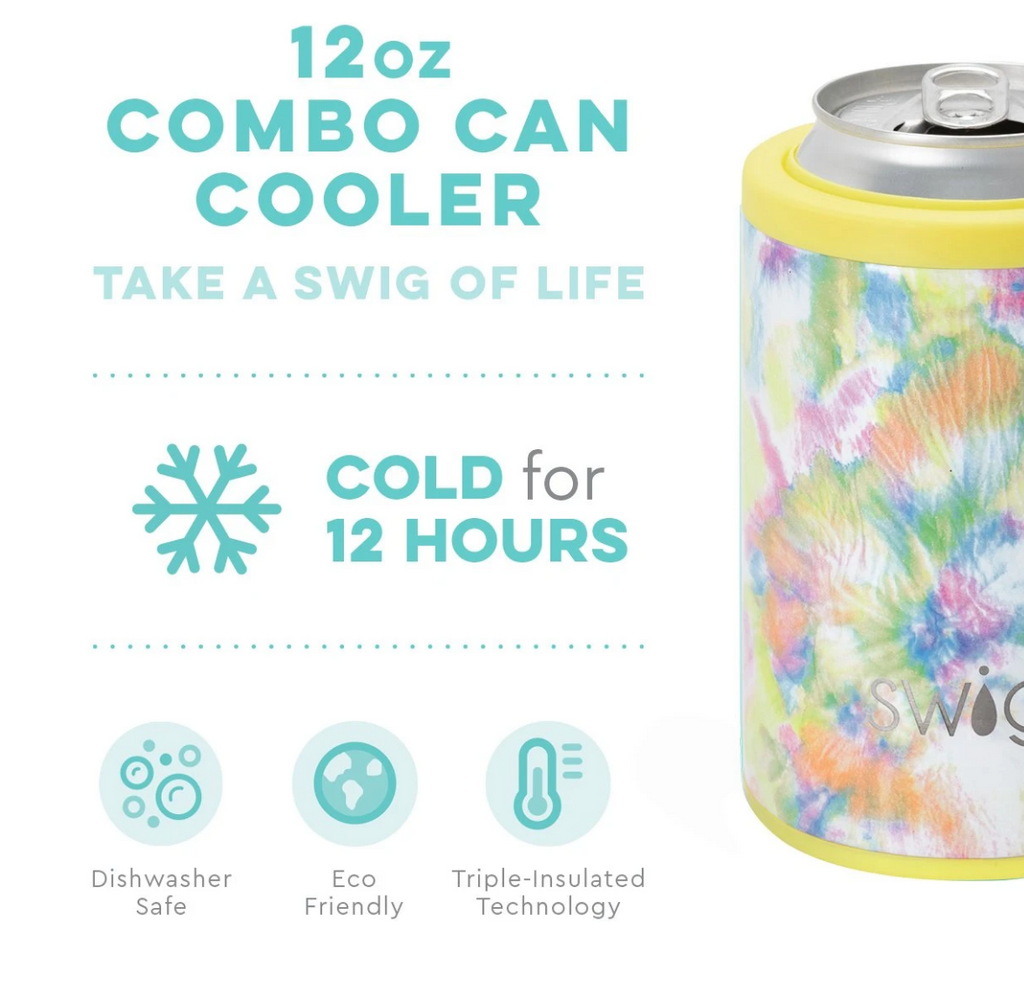 Swig 12oz. Combo Can/Bottle Cooler - You Glow Girl
