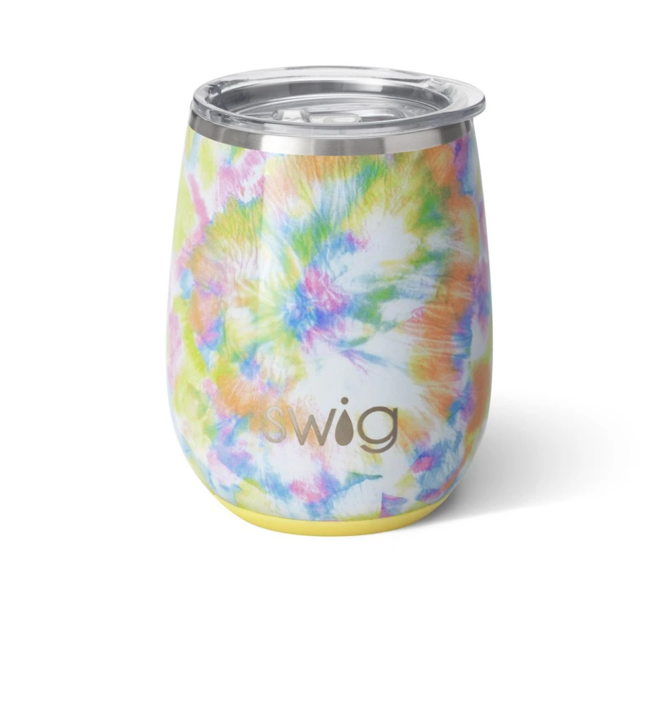 Swig 14oz Stemless cup - You Glow Girl