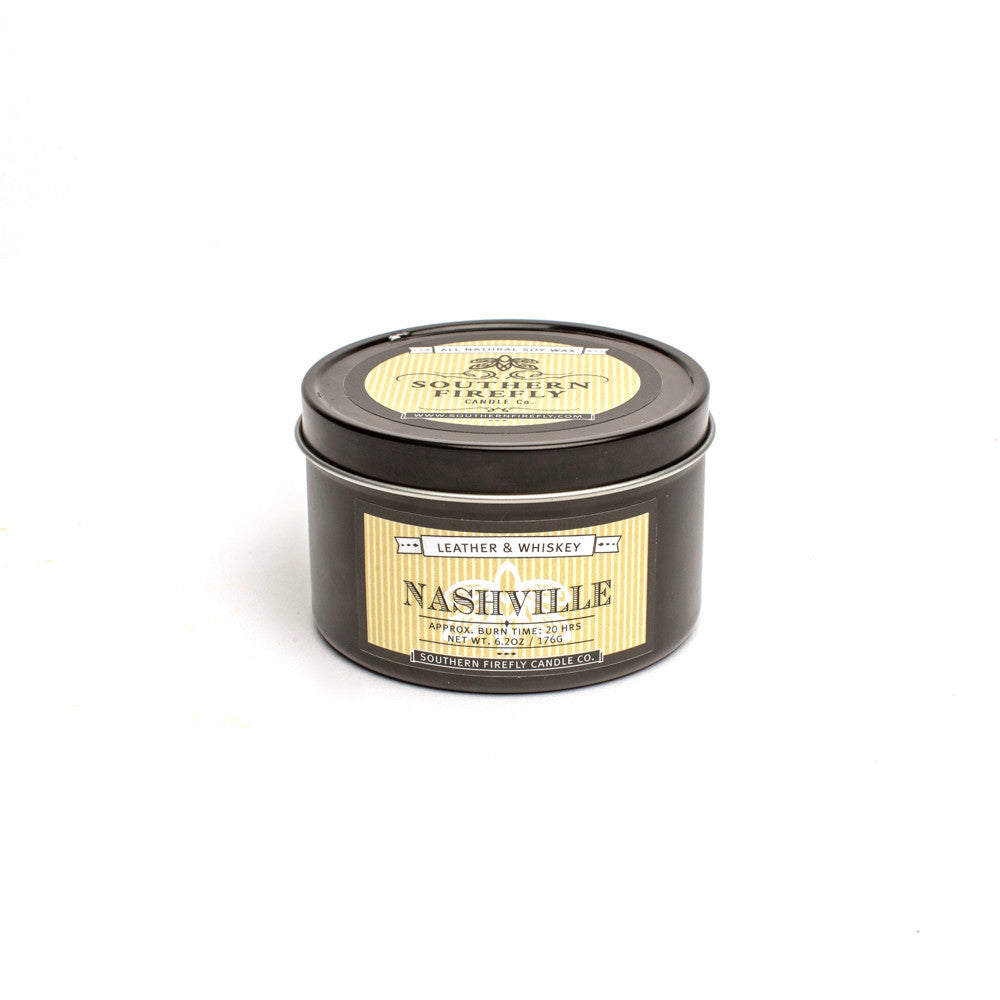 Nashville Candle 8 Oz. Travel Tin