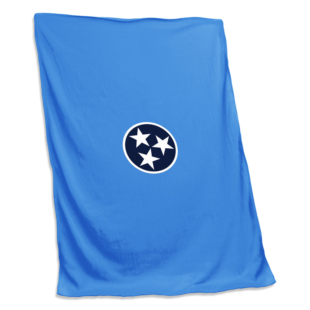 TN Tri Star Sweatshirt Blanket - Titan Blue